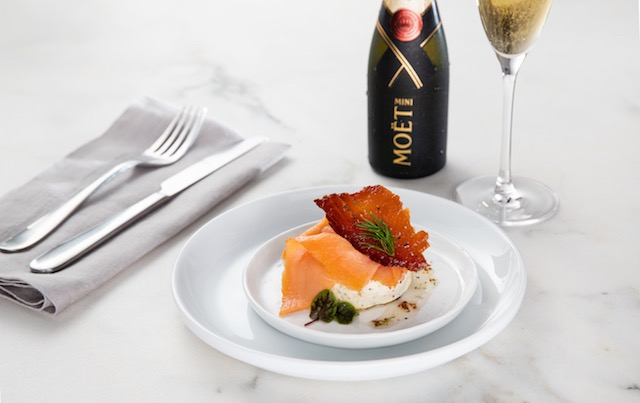 Omni Hotels Kings Cured Salmon with Champagne