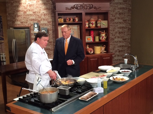 Chef Tom Wolfe - Rib Room - New Orleans - WWL1